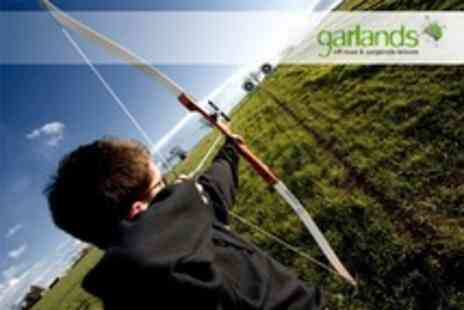 Garlands Leisure - Air Pistol and Rifle Shooting Plus Archery For One - Save 50%