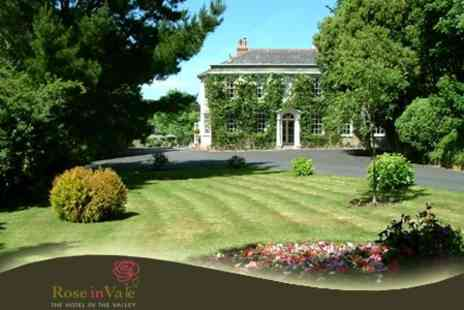 Rose in Vale Country House Hotel - Two Night Getaway in Cornwall For Two With Breakfast - Save 67%