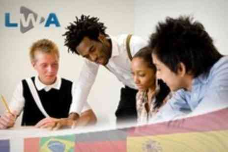 London Waterloo Academy - Twenty Hours of Language Lessons Including Spanish, French - Save 74%