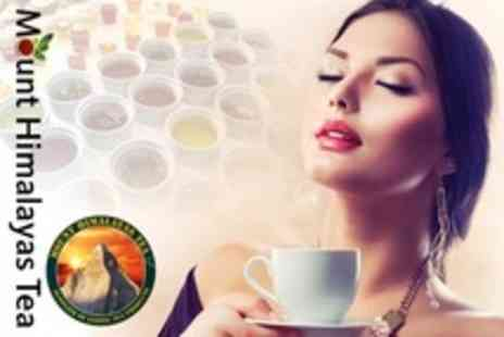 Mount Himalayas Tea - Tea Tasting and Food For Two - Save 52%
