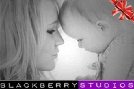 Blackberry Studios - Family or Individual Photoshoot With Ten Prints - Save 93%
