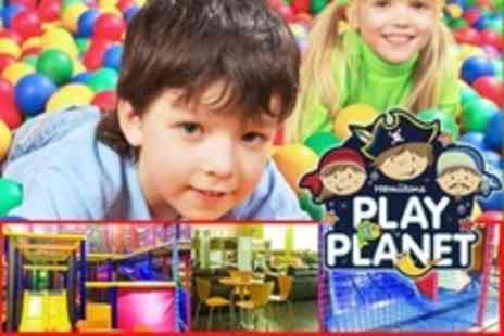 Hamiltons Play Planet - Family Admission With Coffee and Hot Snack For Adults - Save 54%