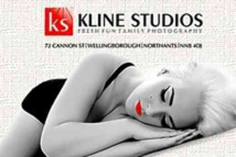 Kline Studios - Vintage or Fashion Photoshoot With Makeover and A4 Print - Save 88%