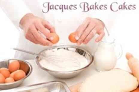 Jacques Bakes Cakes - Choice of Bakery Class - Save 60%