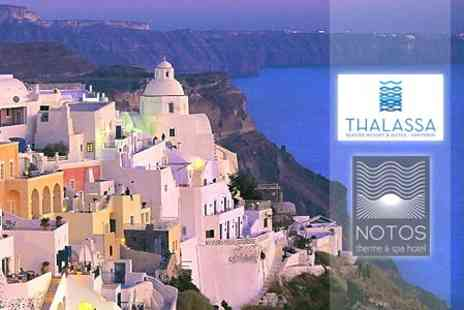 Thalassa Seaside Resort and Suites - Three Night Stay For Two on The Greek Island of Santorini - Save 70%