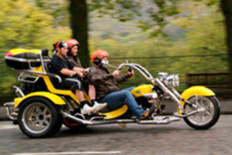 Trike Tours Scotland - Trike tour for 2 inc equipment, photos & refreshments - Save 63%