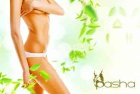 Pasha - Six Laser Hair Removal Sessions on One Areas - Save 11%