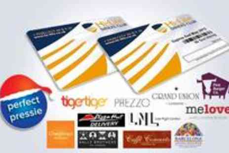 Hi-Life Diners Club - Two Hi-Life 2-for-1 dining cards - Save 79%