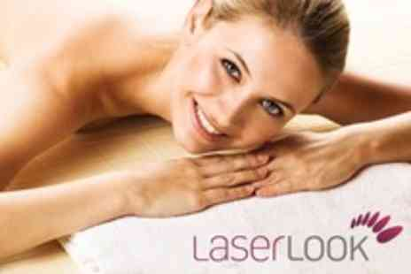 Laser Look - 90 Minutes Pampering with Choices Such as Shellac Manicure and Pedicure - Save 64%