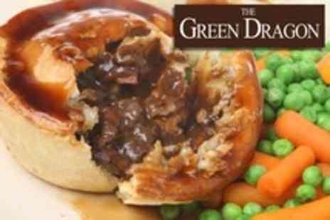 The Green Dragon Hotel - Two Course Pie Supper For Two - Save 50%
