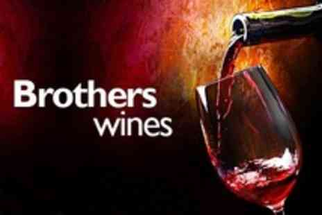 Brothers Wines - Tutored Wine Tasting Plus Prosecco For Six with Brothers Wines - Save 89%