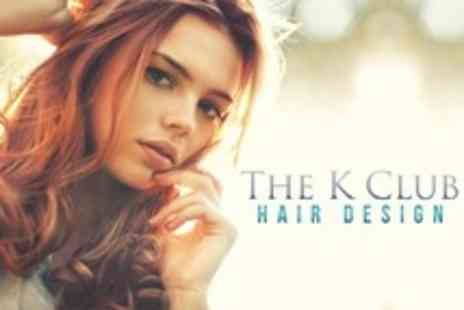 The K Club Hair Design - Cut, Restyle and Conditioning Treatment - Save 64%