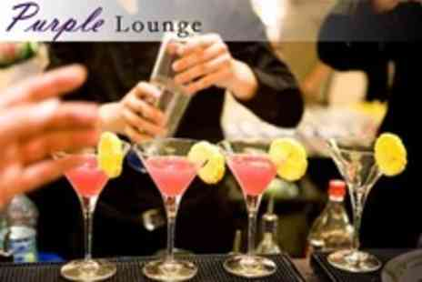 Purple Lounge - Cocktail Masterclass For Two - Save 37%