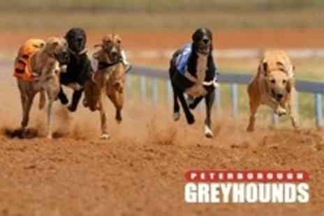 Peterborough Greyhounds - Entry to Greyhound Racing With Fast Food For Up to Ten - Save 50%