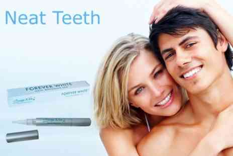 Neat Teeth - LED Laser Teeth Whitening Treatment - Save 80%