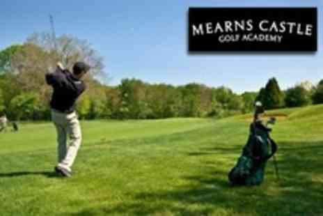 Mearns Castle Golf Academy - 18 Golf Holes, Range Balls and Practice Session Plus Breakfast - Save 63%