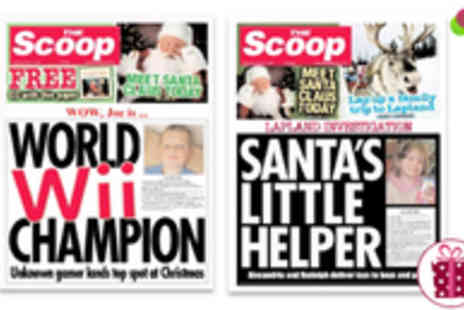 Scooped - Clever Customised Newspaper - Save 50%