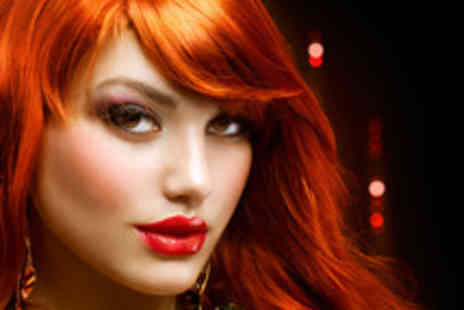 Charu Hair Beauty Nails & Spa - Full head of colour, restyle, Moroccanoil treatment & blow dry - Save 77%