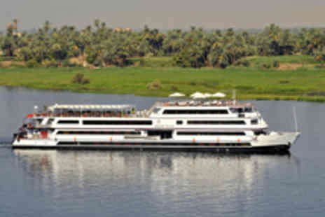 Alexanders - Luxury full-board Nile cruise with all excursions, an expert guide and all travel - Save 50%