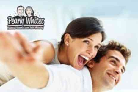 Pearly Whites - Laser Teeth Whitening For One - Save 54%