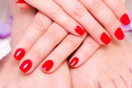 The Butterfly Lounge - Gelish Manicure and Pedicure - Save 56%
