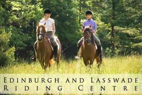 Edinburgh and Lasswade Riding Centre - Two Hour Group Horse Riding Session - Save 62%