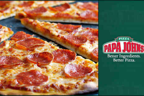 Papa John's Pizzas - Delicious takeaway pizza from Papa John's - Save 60%