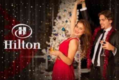 Hilton Bristol - All Inclusive Christmas Party With Three Course Meal and Open Bar For Eight - Save 27%