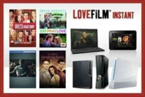 LOVEFiLM - Instant For Six Months - Save 60%