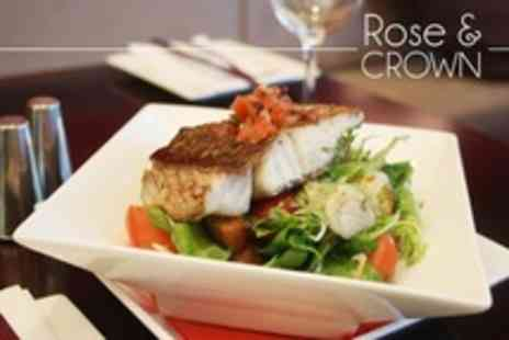The Rose and Crown - Traditional Fare - Save 52%