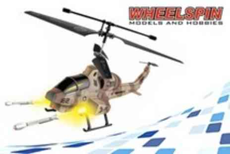 Wheelspin Models and Hobbies - Missile Firing Gyro Helicopter - Save 51%
