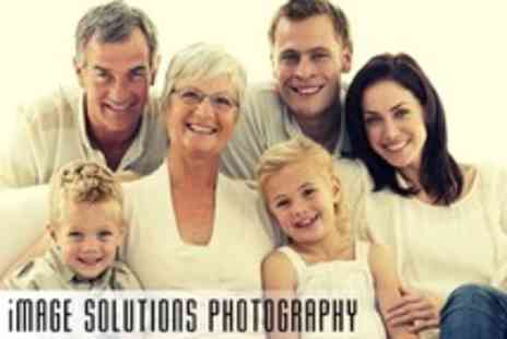 Image Solutions Photography - Photoshoot Group Session With Five Prints - Save 92%