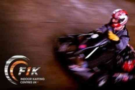 F1K - Up to 50 Lap Karting Race - Save 33%