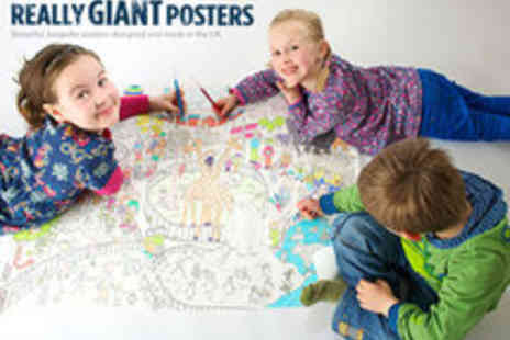 Really Giant Posters - Giant Colouring in Posters Including NEW Farm - Save 50%