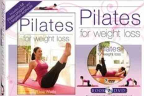 The Book Stalk - Pilates gift set  includes instructional book and DVD - Save 54%