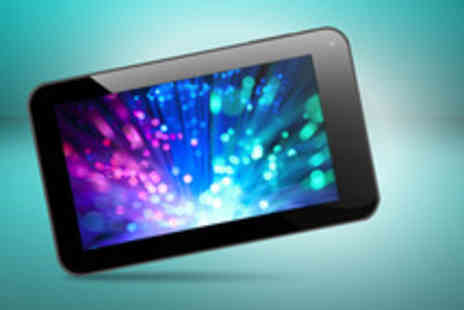 Designer Numbers - 7 Android touchscreen tablet PC with camera and 4GB storage - Save 77%