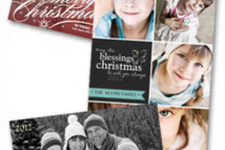 Simply to Impress - Spend on Personalised Christmas Cards - Save 64%
