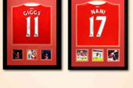 All Star Signings - Man Utd Replica Shirt Signed by Ryan Giggs - Save 50%