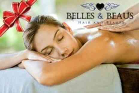 Belles and Beaus - Choice of Two Treatments Such as Full Body Swedish Massage and Eyelash Extensions - Save 55%
