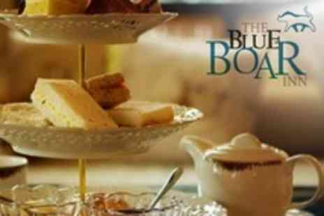 The Blue Boar - Winter Afternoon Tea For Two - Save 40%