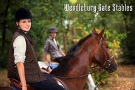 Wendlebury Gate Stables - One Session of Horse Riding - Save 61%
