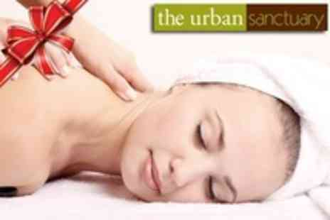 The Urban Sanctuary - Choose Two Pamper Treatments From Mini Facial, Back, Shoulder and Neck Massage, Manicure or Pedicure - Save 58%
