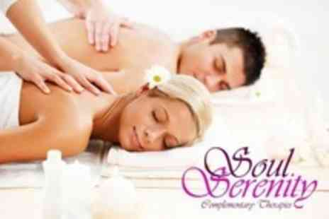 Soul Serenity - Full Body Massage, or Back Massage With Reflexology, For One  - Save 52%