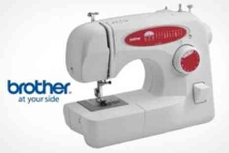 Curated.co.uk - Brother 26 Function Sewing Machine With Tuition DVD and Three Year Warranty - Save 46%