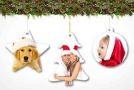 Printed Wardrobe - Personalised Christmas Decorations - Save 50%