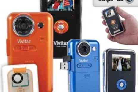 Vivitar - Night Vision DV Camcorder (Orange) - Amazing Price! - Save 64%