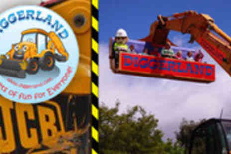 Diggerland - Person entry to Diggerland theme park in Devon - Save 47%