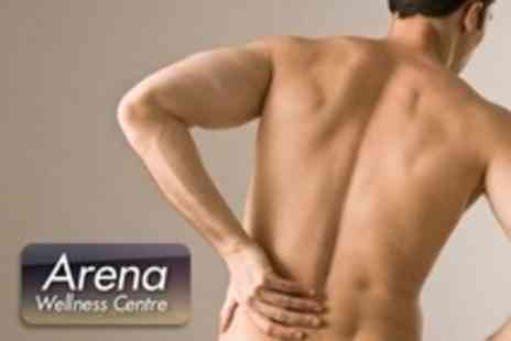 Arena Wellness Centre - Chiropractic Consultation Plus Three Treatment Sessions, Back Scan and Spinal Care Workshop - Save 82%