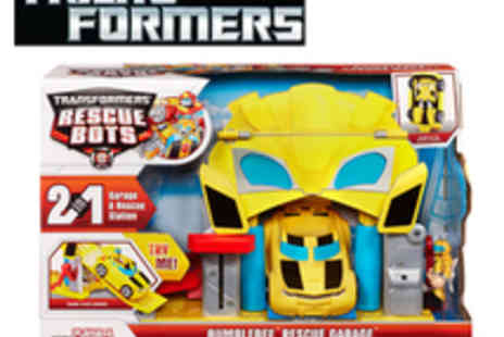 The Transformers - Bumblebee Rescue Garage - Save 60%