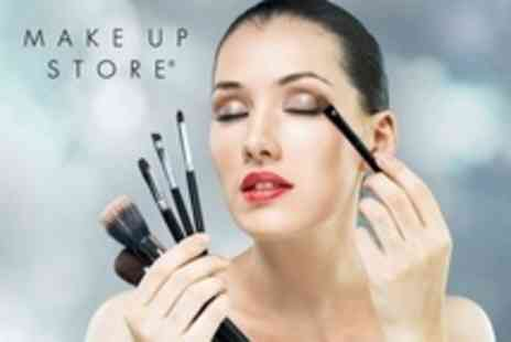 Make Up Store - Three Hour Lesson Plus Eye Shadow - Save 54%